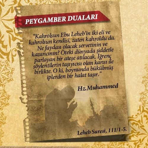 Peygamberlerin Kur'an'da geçen duaları 65