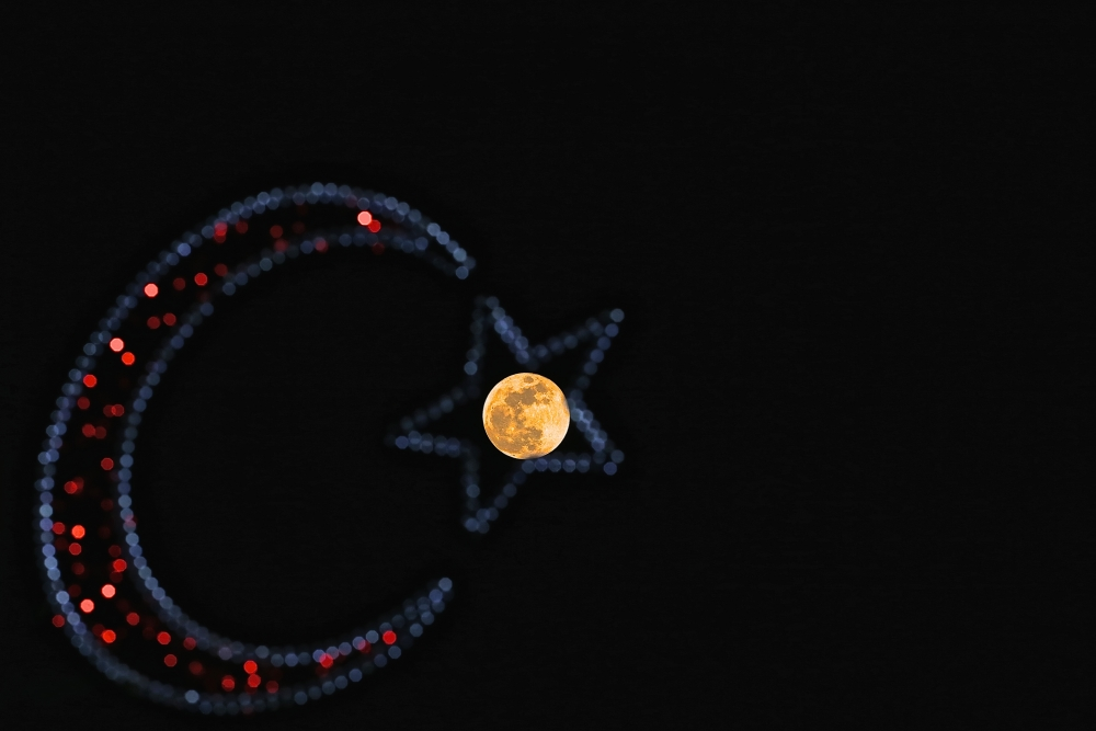Mavi Süper Ay büyüledi 1