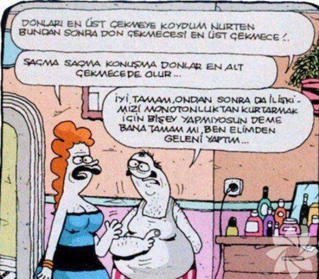 Gülme krizine sokan evlilik karikatürleri 1