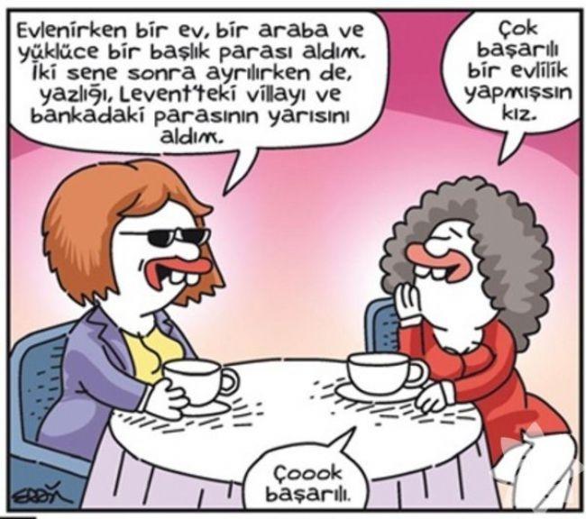 Gülme krizine sokan evlilik karikatürleri 10