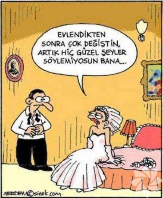 Gülme krizine sokan evlilik karikatürleri 13