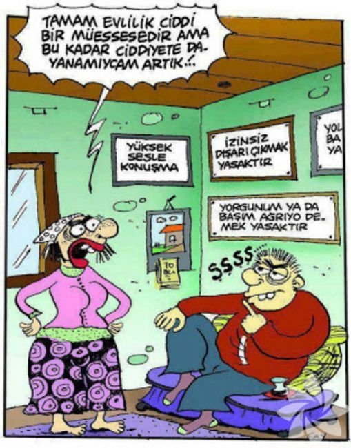 Gülme krizine sokan evlilik karikatürleri 14
