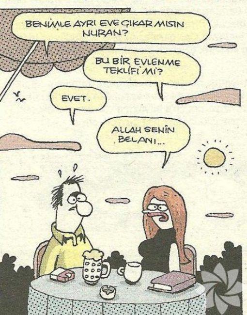 Gülme krizine sokan evlilik karikatürleri 16