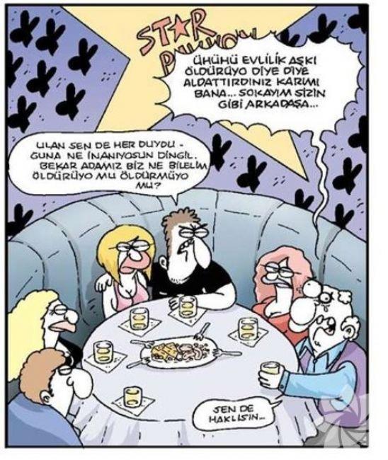 Gülme krizine sokan evlilik karikatürleri 17