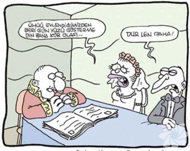 Gülme krizine sokan evlilik karikatürleri 2