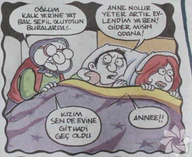 Gülme krizine sokan evlilik karikatürleri 20