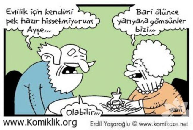 Gülme krizine sokan evlilik karikatürleri 21