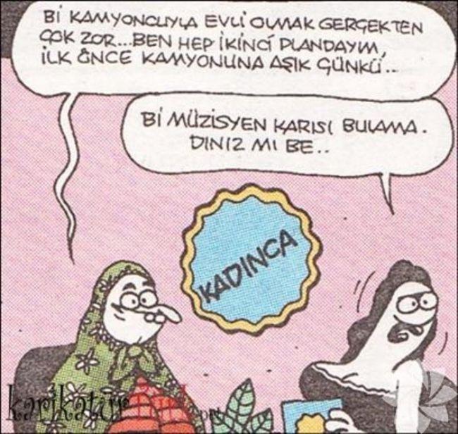 Gülme krizine sokan evlilik karikatürleri 3