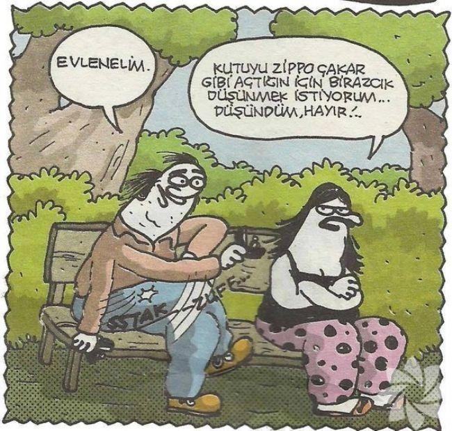 Gülme krizine sokan evlilik karikatürleri 31