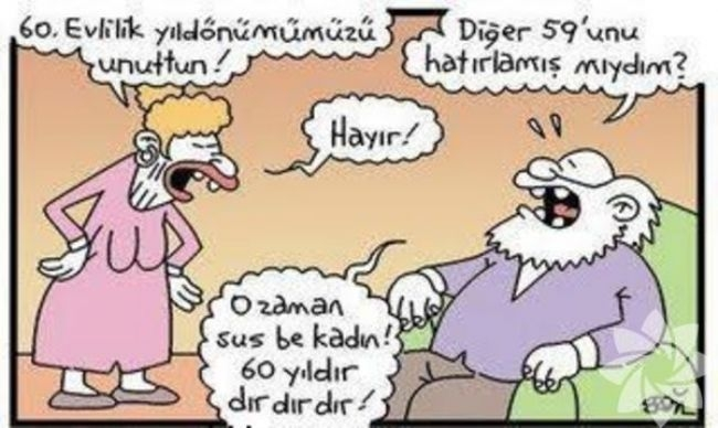 Gülme krizine sokan evlilik karikatürleri 4