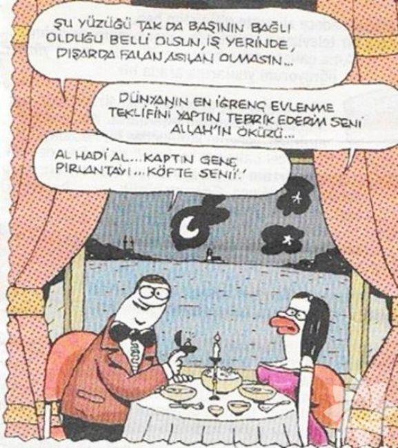 Gülme krizine sokan evlilik karikatürleri 5
