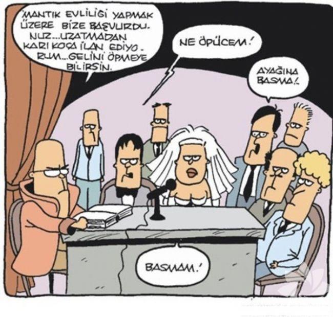 Gülme krizine sokan evlilik karikatürleri 6