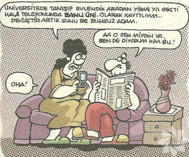 Gülme krizine sokan evlilik karikatürleri 9