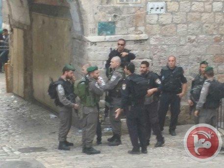 Mescid-i Aksa'da İsrail şiddeti 12
