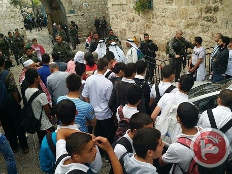 Mescid-i Aksa'da İsrail şiddeti 13