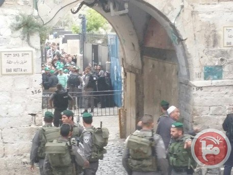 Mescid-i Aksa'da İsrail şiddeti 2