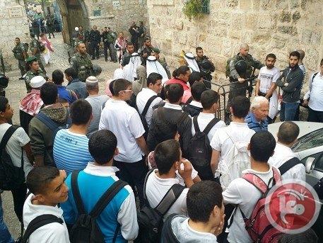 Mescid-i Aksa'da İsrail şiddeti 4