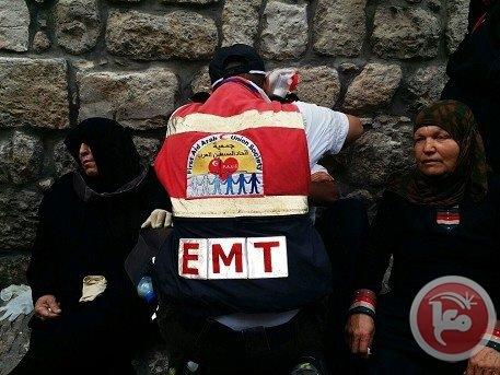 Mescid-i Aksa'da İsrail şiddeti 7