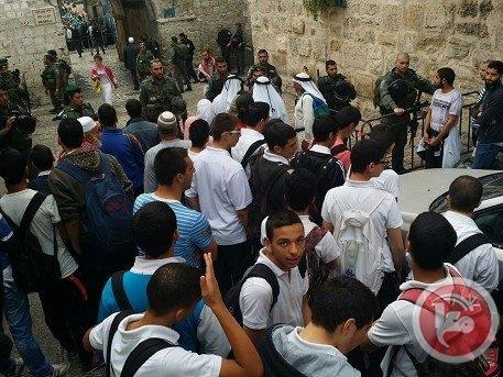 Mescid-i Aksa'da İsrail şiddeti 9