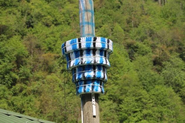 Rizeli yine yaptı yapacağını: Laz işi minare 1