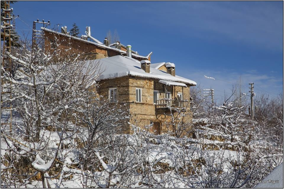 Hadim'den muhteşem kar manzaraları 1