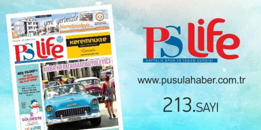 PS LİFE 213. SAYI
