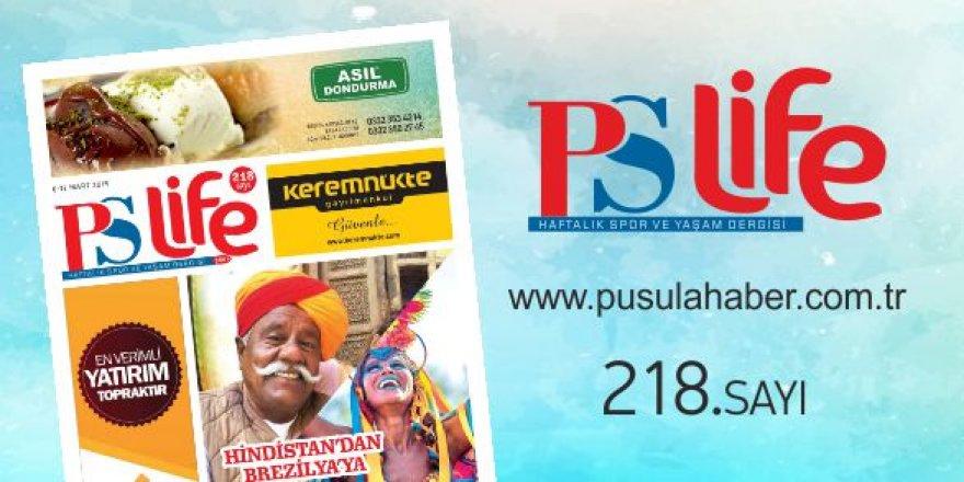 PS LİFE 218. SAYI