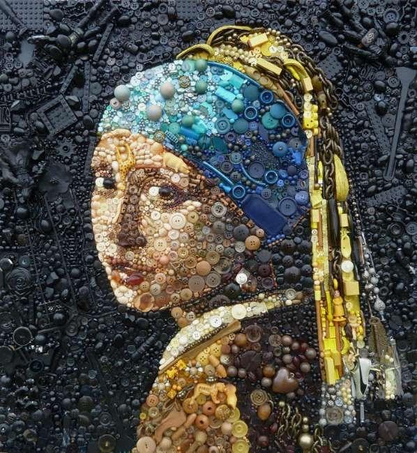 Çöpten Sanat Eserleri Üretildi 2