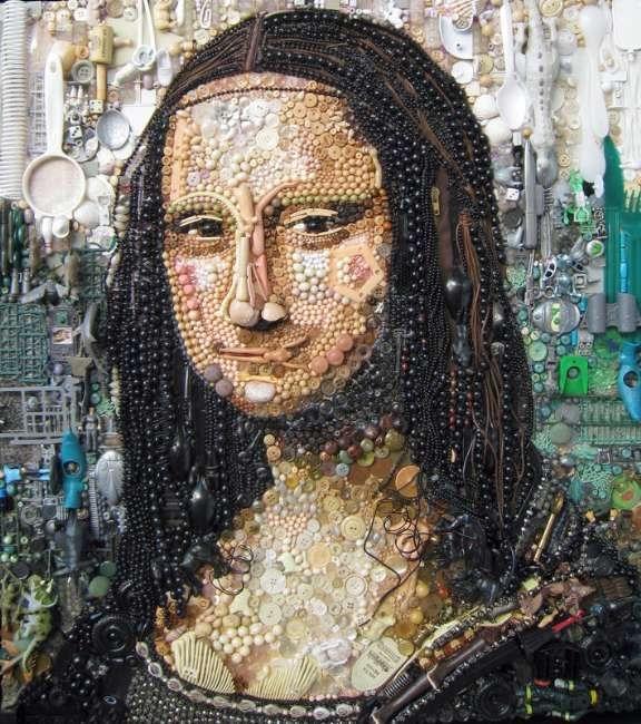 Çöpten Sanat Eserleri Üretildi 4