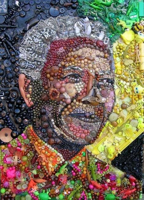 Çöpten Sanat Eserleri Üretildi 7