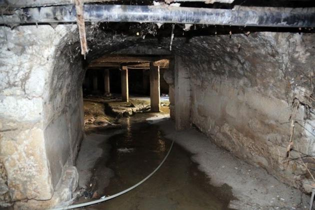 Kanalizasyon kazarken tarih çıktı! 4