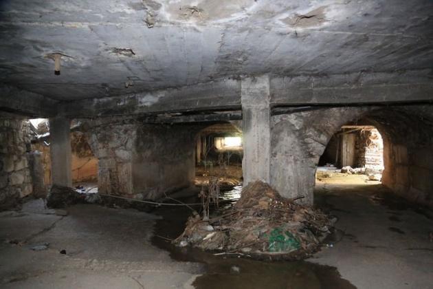 Kanalizasyon kazarken tarih çıktı! 5