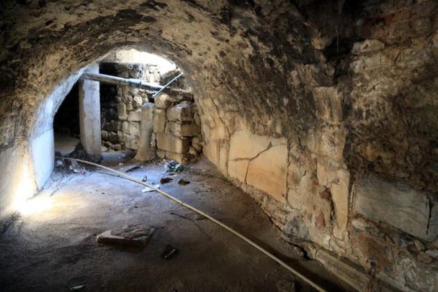 Kanalizasyon kazarken tarih çıktı! 7