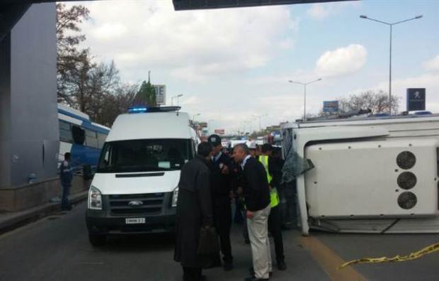 Ankara'da feci kaza 3 ölü 14