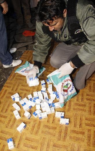 Ankara'da büyük uyuşturucu operasyonu 10