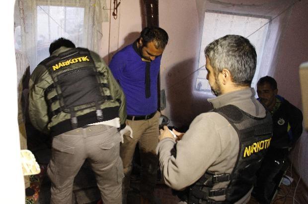Ankara'da büyük uyuşturucu operasyonu 3