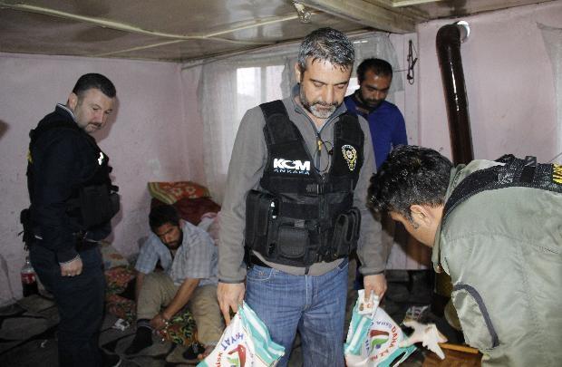 Ankara'da büyük uyuşturucu operasyonu 8