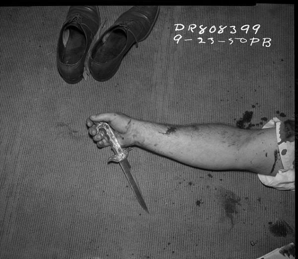 Arşivlerden çıkan cinayet fotoğrafları 3