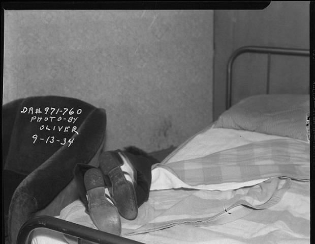 Arşivlerden çıkan cinayet fotoğrafları 5