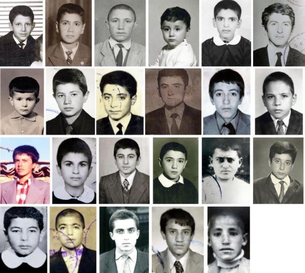 Başbakan ve Bakanların çocukluk fotoğrafları 1
