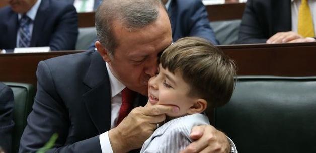 Başbakan'ın minik hayranından sevgi gösterisi 10