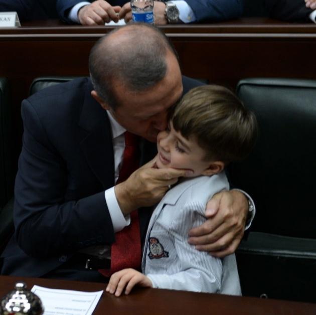 Başbakan'ın minik hayranından sevgi gösterisi 6