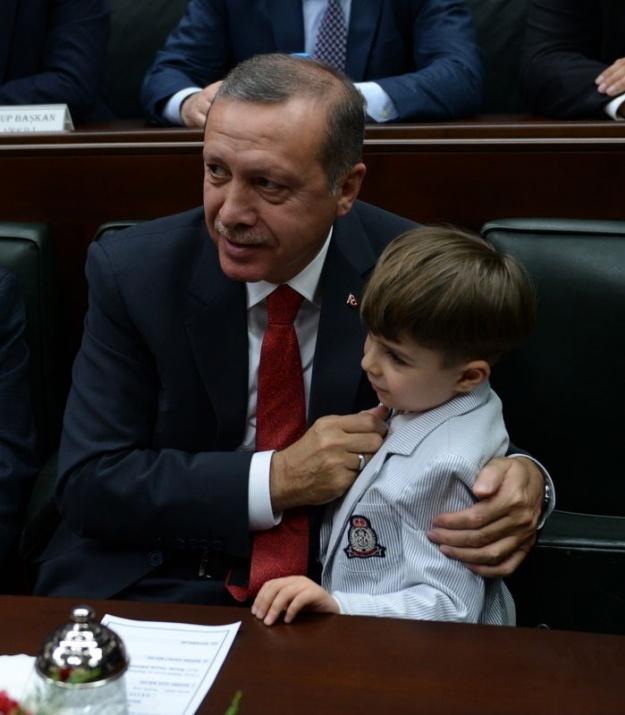Başbakan'ın minik hayranından sevgi gösterisi 9