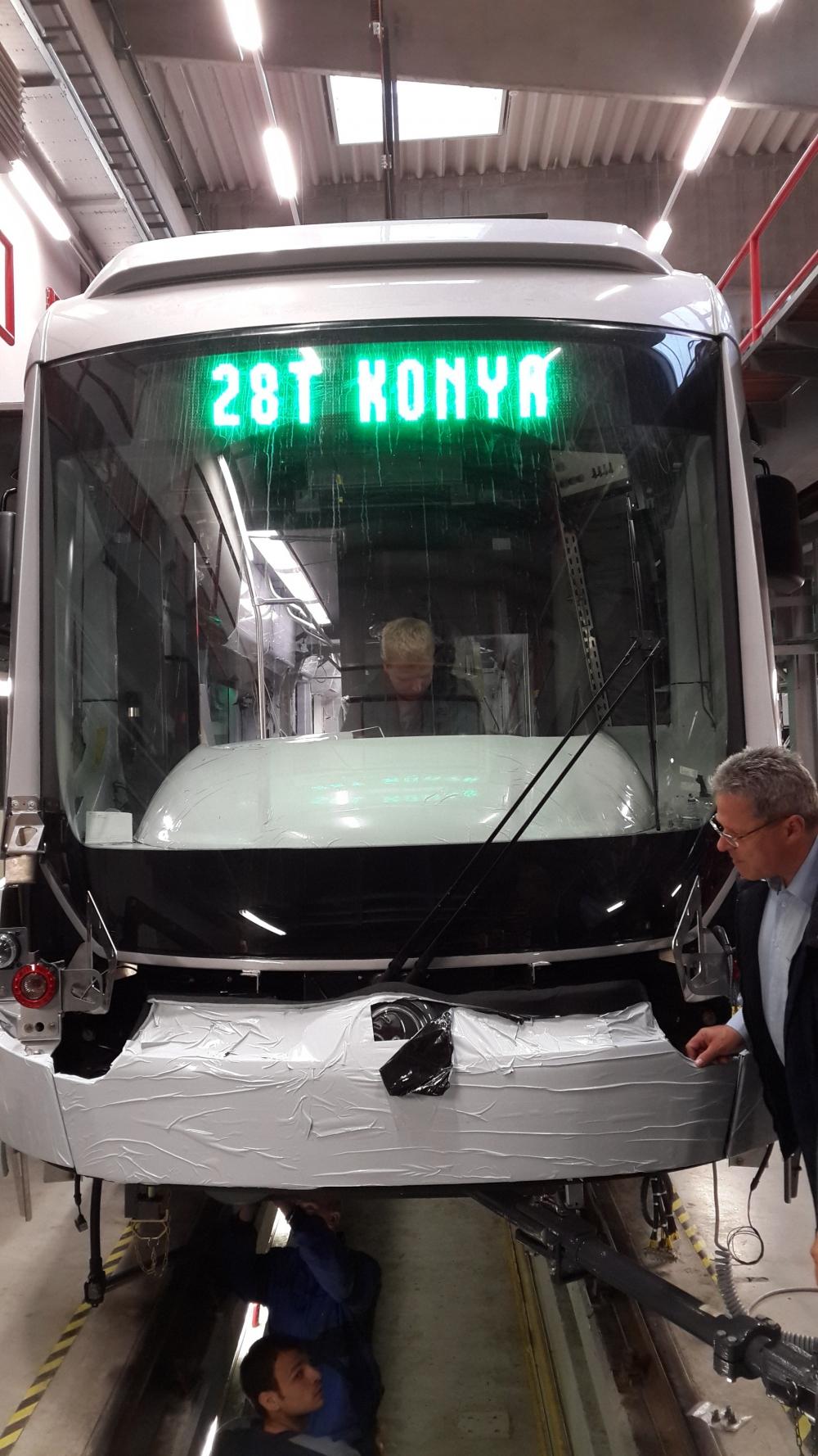 Yeni tramvaylar kalite kontrolünde 1