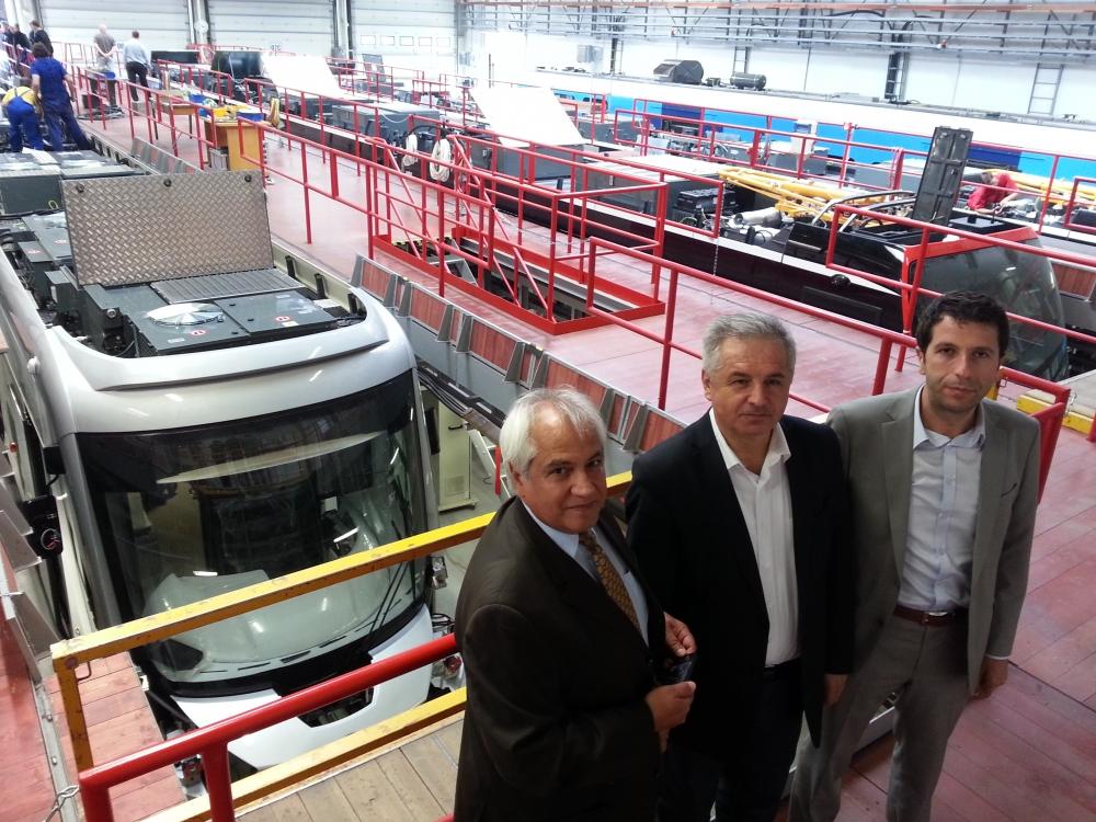 Yeni tramvaylar kalite kontrolünde 12