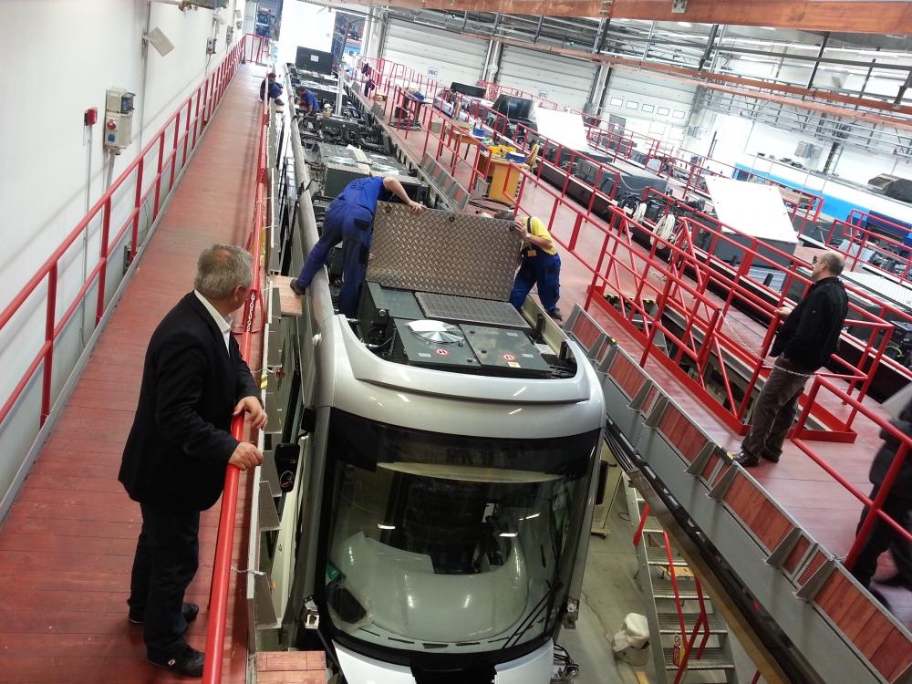 Yeni tramvaylar kalite kontrolünde 16