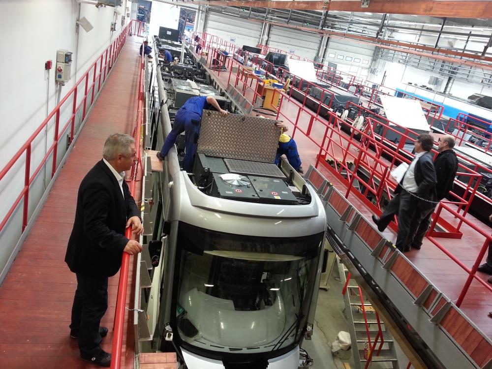 Yeni tramvaylar kalite kontrolünde 17