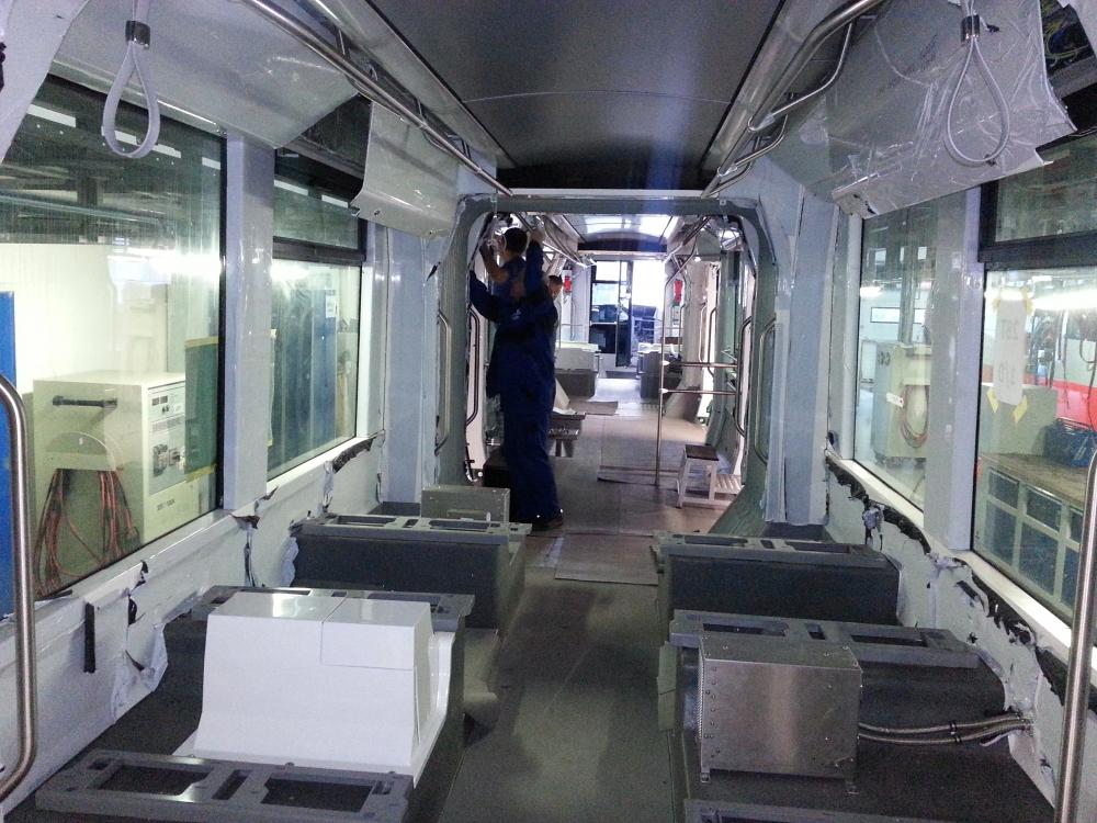 Yeni tramvaylar kalite kontrolünde 18