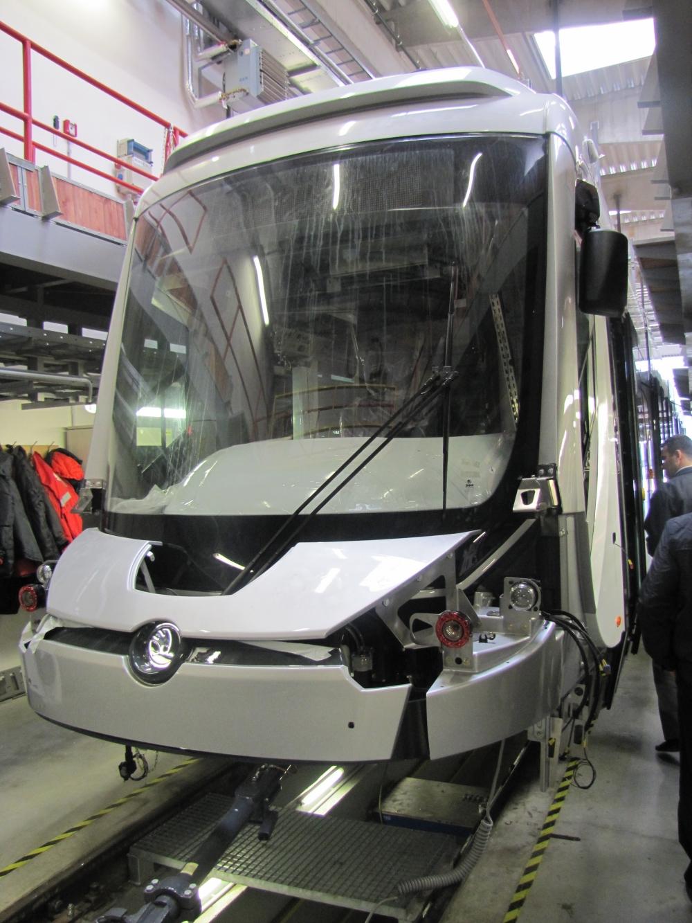 Yeni tramvaylar kalite kontrolünde 20