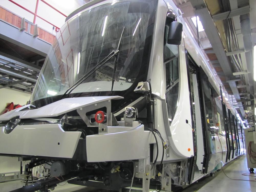 Yeni tramvaylar kalite kontrolünde 21